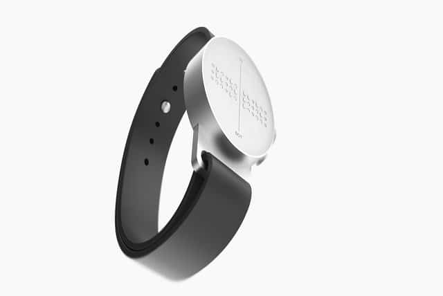 Dot Smartwatch for blind image high definition