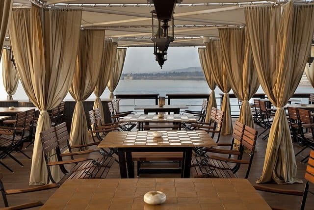 Shaded Deck at Nile Crusie
