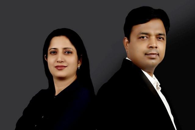 Dr Maroof Siddiqui and Dr Mili Siddiqui of Advanced Homeopathy Clinic Allahabad Prayagraj